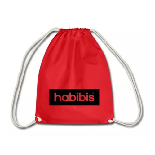 Habibi Habibis Habibiz Rucksack Turnbeutel individuelles Design bedruckt